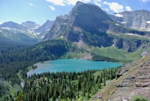 Grinnell Lake; Image courtesy of Lara Grant