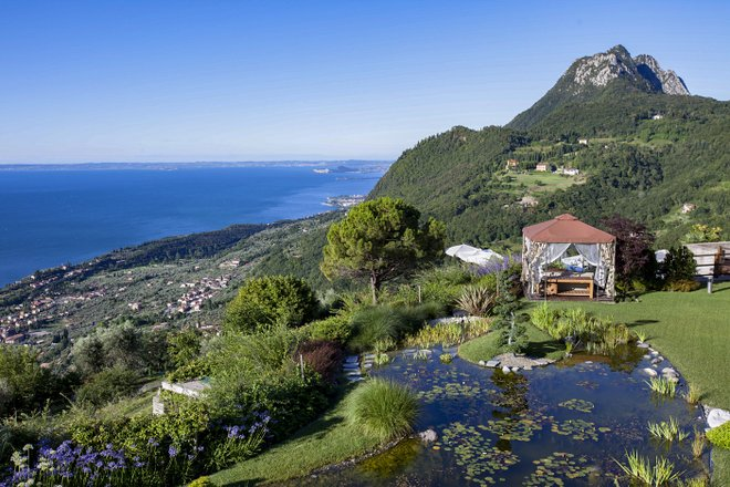 Jardín Zen en el Lefay Resort And Spa Lago di Garda / Oyster