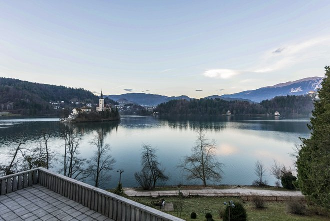 The Suite with Lake View at the Vila Bled/Oyster