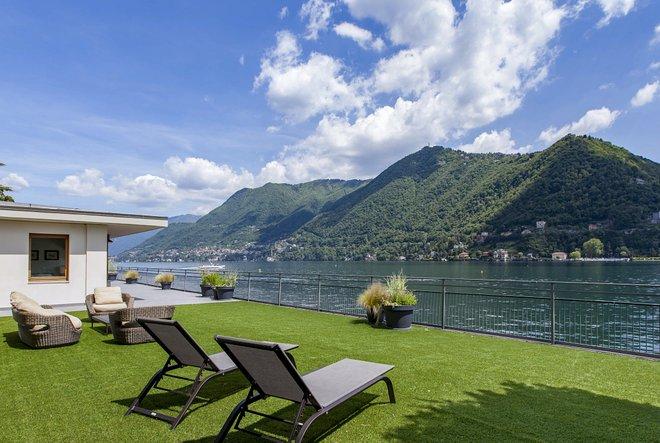 Suite Gran Lago en el Hotel Villa Flori / Oyster