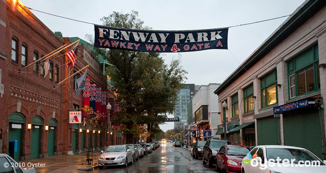 Fenway Park in Boston is just two blocks from Hotel Commonwealth