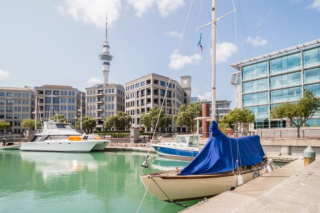 New Zealand's North Island; Sofitel Auckland Viaduct Harbour/Oyster