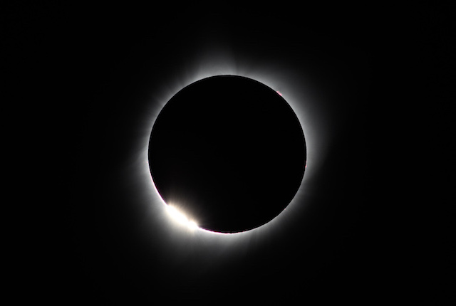 Eclipse Solar 2017 em Wyoming; Bernd Thaller / Flickr