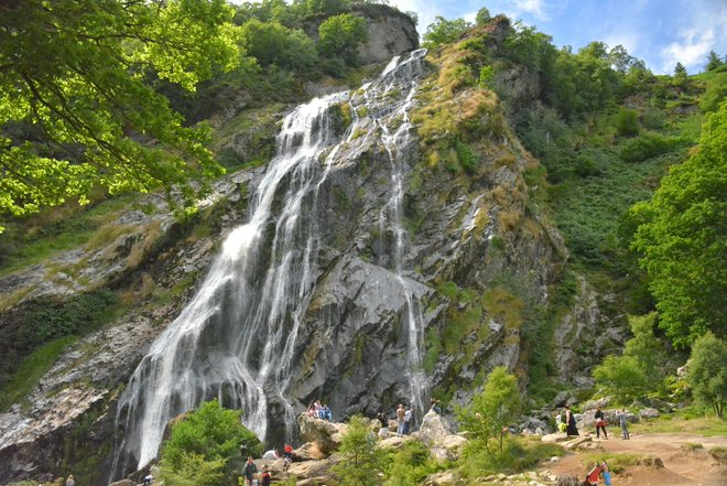 Powerscourt Waterfall; Gfox228/Wikimedia.