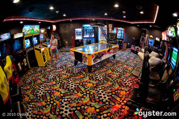 Arcade at California Hotel and Casino Las Vegas