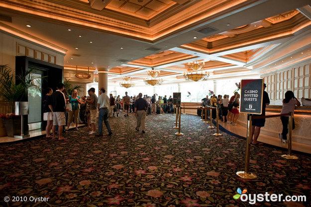 Lobby at Treasure Island Las Vegas