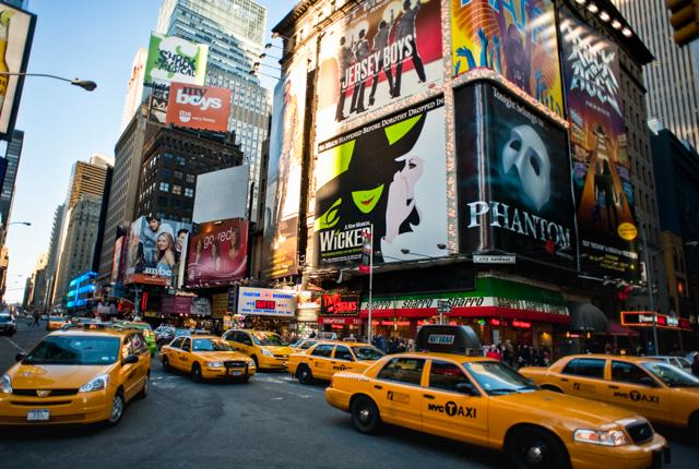 Times Square,  Cidade de Nova York / Ostra