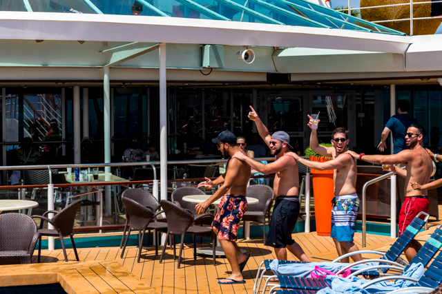 Pool Party on Empress of the Seas/Oyster