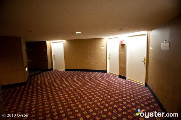 Hallways at Luxor Hotel & Casino Las Vegas