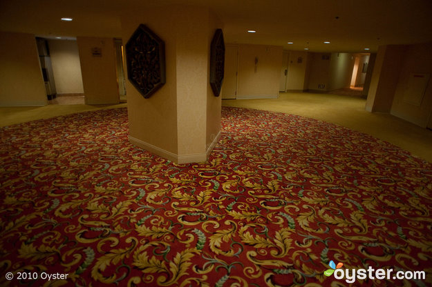 Hallways at Monte Carlo Resort & Casino Las Vegas