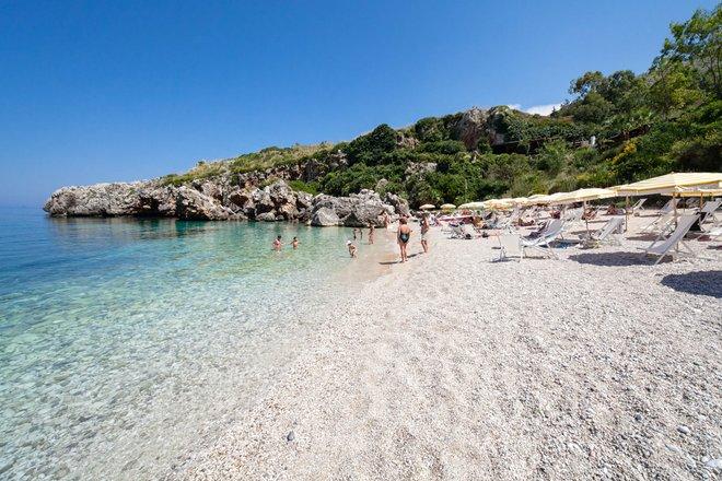 Beach at Calampiso Sea Country Resort in San Vito lo Capo/Oyster