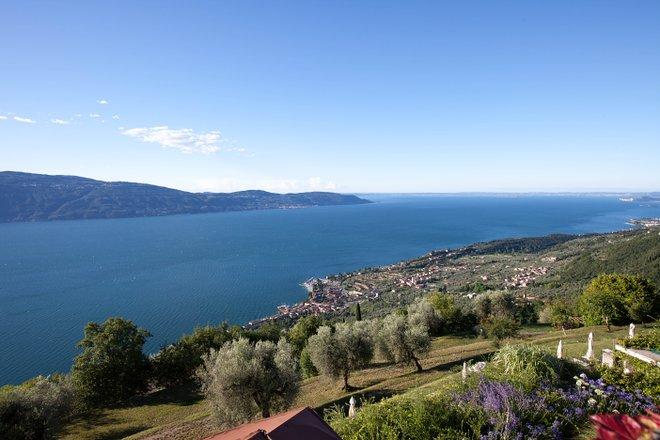 Vue de Lefay Resort And Spa Lago di Garda à Gargnano sur le lac de Garde / Oyster