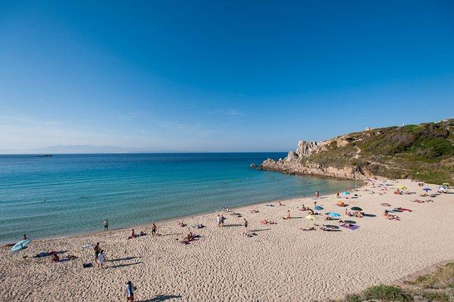 Beach at Grand Hotel Corallaro in Santa Teresa di Gallura/Oyster