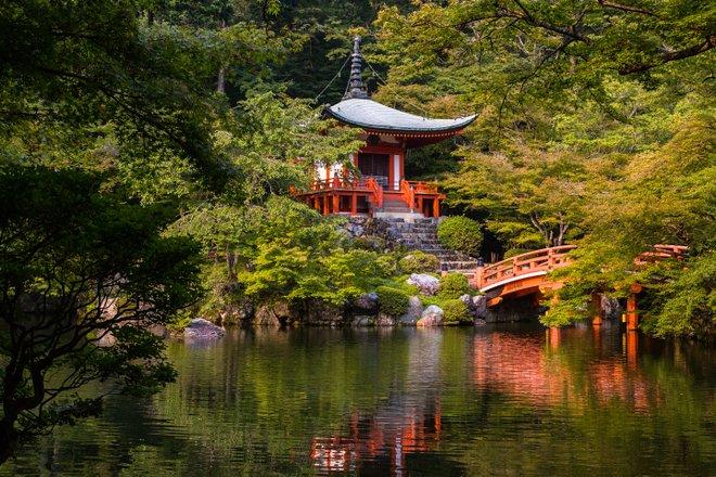Daigo-ji Temple in Kyoto, Japan/Oyster