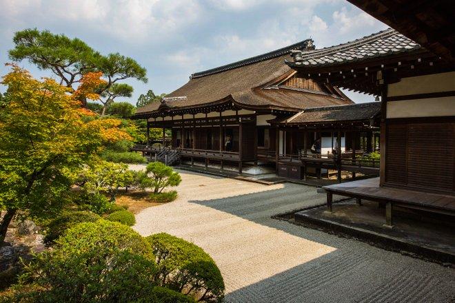 Ninnaji Temple in Kyoto, Japan/Oyster