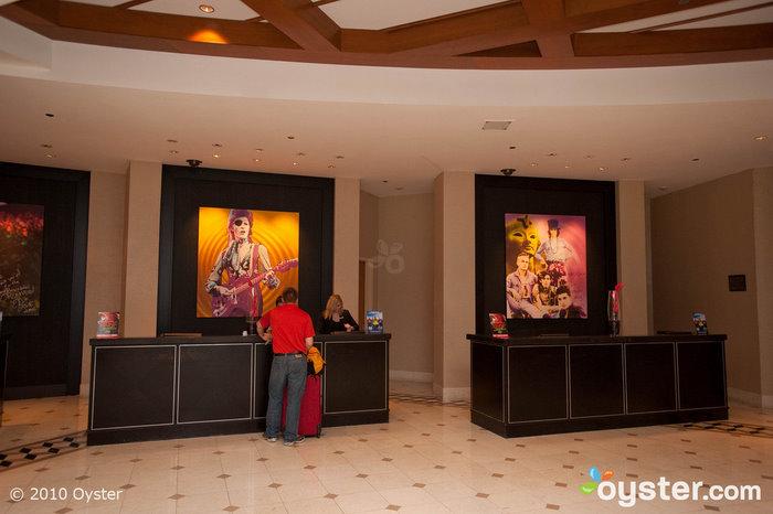 Lobby at The Hard Rock