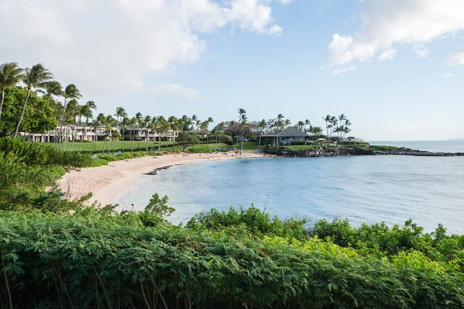 Strand an der Montage Kapalua Bay / Oyster