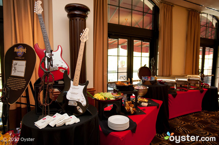 The meeting rooms at The Hard Rock