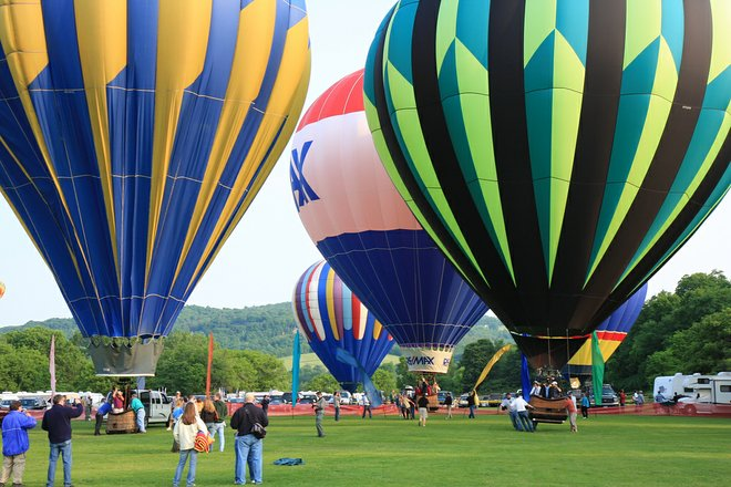 Quechee Balloon Festival; rubberduckee/Flickr