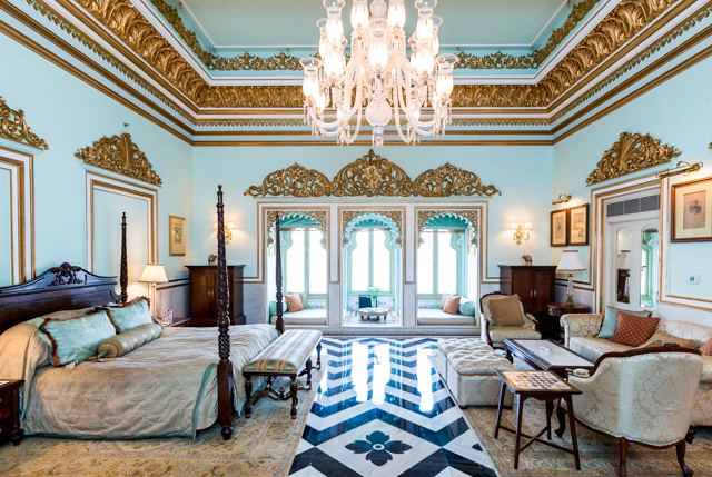 The Grand Royal Suite at the Taj Lake Palace Udaipur/Oyster