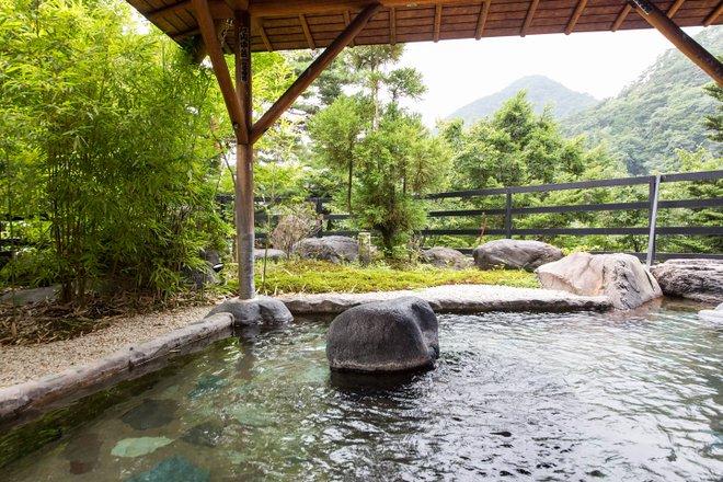 Bains publics à l' hôtel Sunshine Kinugawa / Oyster