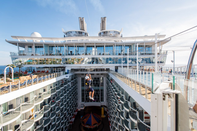 Zip Line on Harmony of the Seas/Oyster