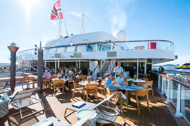 Aquavit Terrace auf Viking Star / Oyster