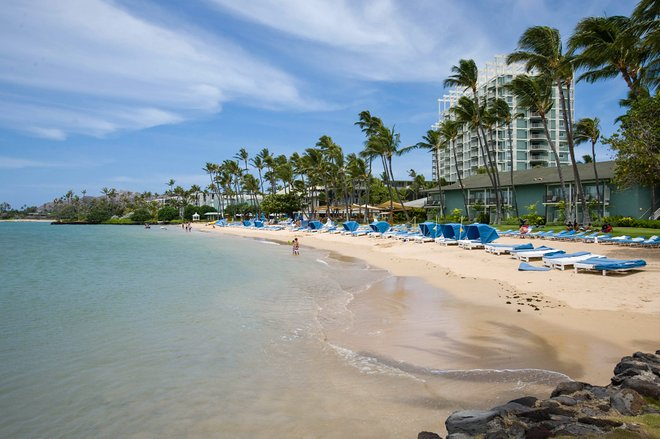 Praia no Kahala Hotel and Resort / Oyster