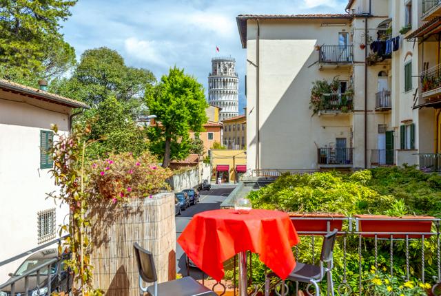 Terrasse im Hotel Francesco / Oyster