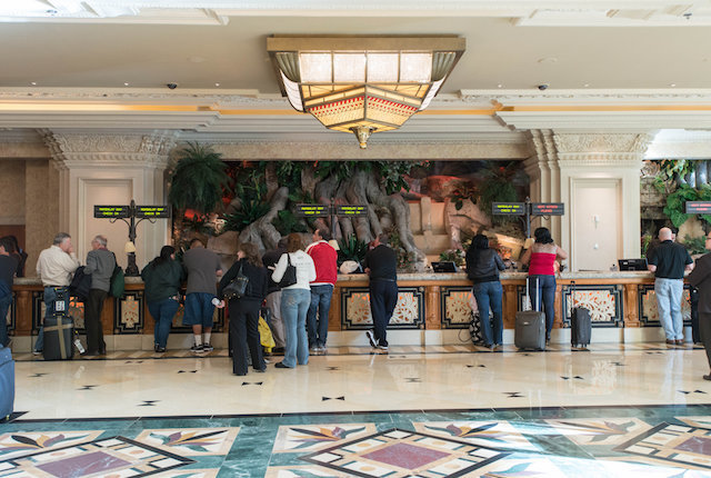 Lobby at the Mandalay Bay Resort & Casino