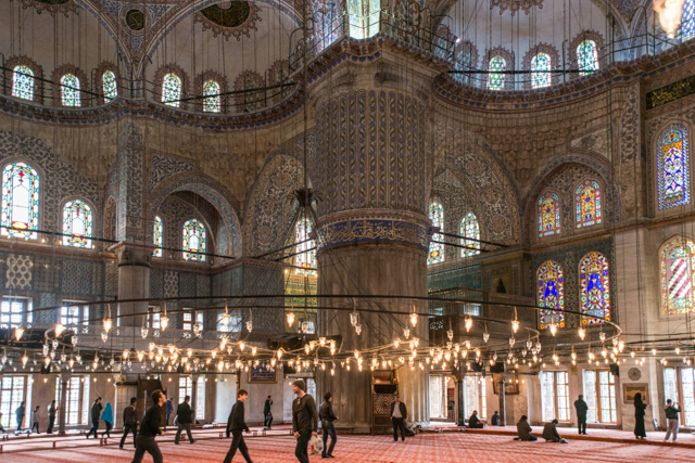 The Blue Mosque/Oyster