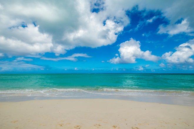 Praia no COMO Parrot Cay, Turks e Caicos / Oyster