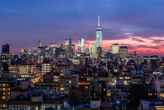 New York City Skyline / Auster