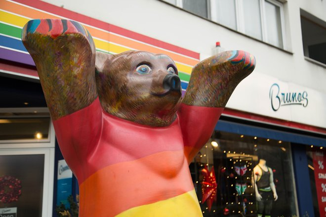 Rainbow Bear, Berlin/Oyster