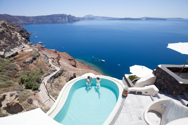 The Pool at the Pezoules, Santorini/Oyster