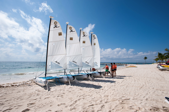 Water Sports at the Barcelo Maya Caribe & Beach/Oyster