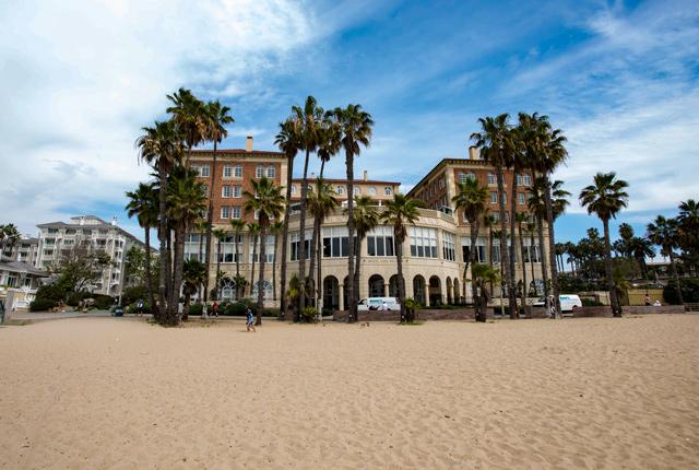Strand im Hotel Casa Del Mar / Oyster