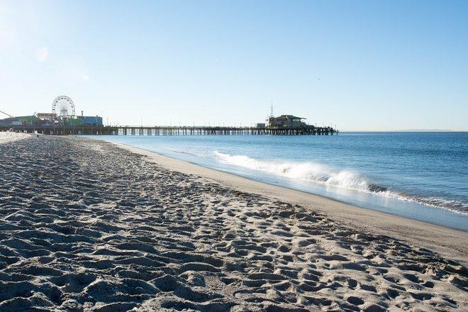 Palisades Park Beach im Ocean View Hotel / Oyster