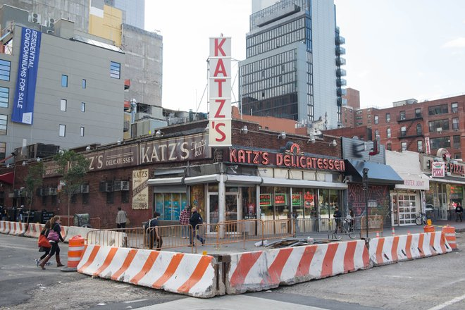 Katz's Deli/Oyster