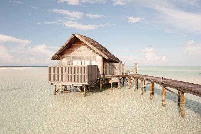 Die Villa mit einem Schlafzimmer auf der Cocoa Island von COMO / Oyster
