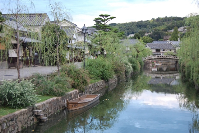Canals of Kurashiki. Xiquinho Silva/Flickr
