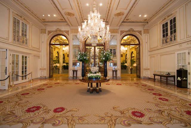 Lobby no The Plaza / Oyster