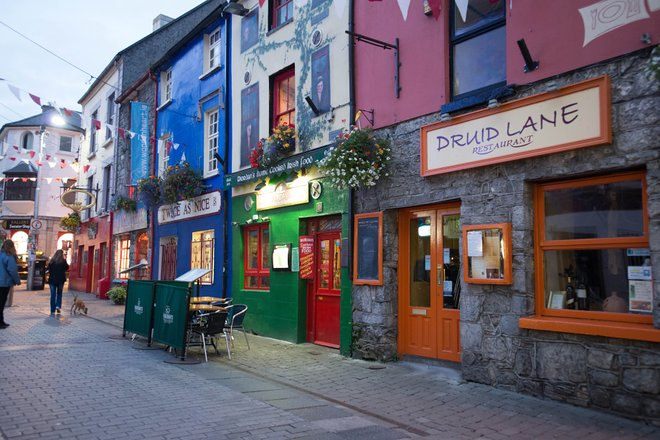 The Latin Quarter, Galway City, Ireland/Oyster