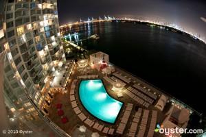 The Pool at the Mondrian South Beach