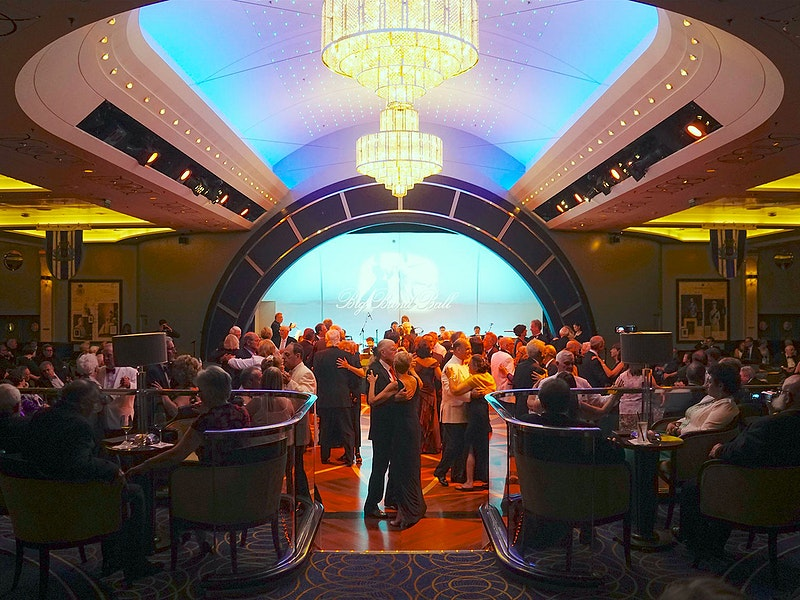 The Queens Room, Queen Mary 2/Photo courtesy of Jason Leppert