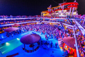 The Deck Parties on Carnival Vista/Oyster