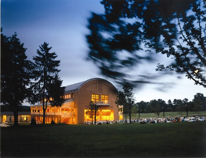 Ozawa Hall at Tanglewood/Steve Rosenthal