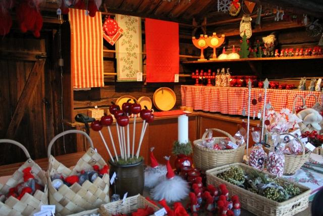 Christmas market stall. Maria Johansson/Skansen.