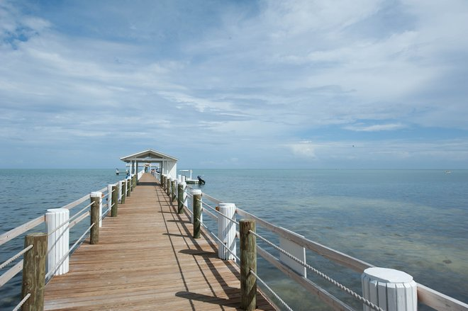 Cais de pesca no Cheeca Lodge & Spa, Islamorada / Oyster