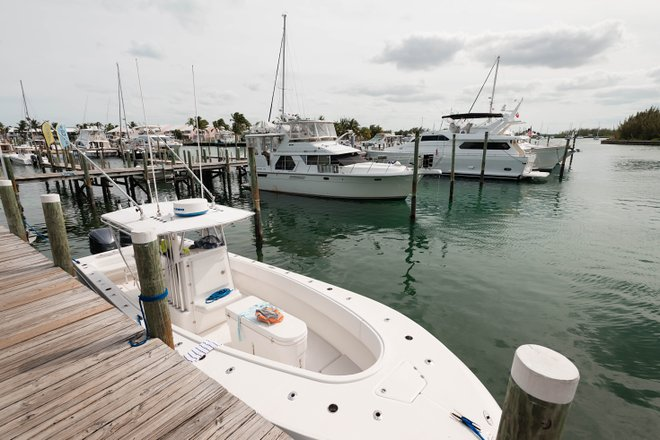 Marina at the Treasure Cay Beach, Marina & Golf Resort, Great Abaco Island/Oyster